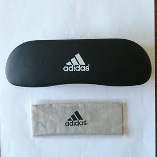 adidas - アディダス 眼鏡ケース(未使用メガネ拭き付き)