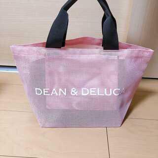 DEAN&DELUCA☆メッシュバッグ☆スモークピンク☆エコバッグ☆トートバック