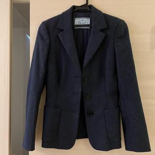 PRADA - 未使用新品 プラダ/PRADA テーラードジャケット ウール 購入額約9万円