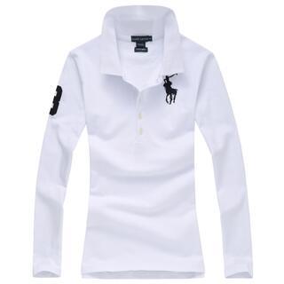 POLO RALPH LAUREN - 高品質女性用ポロ ラルフローレンポロシャツ長袖11色