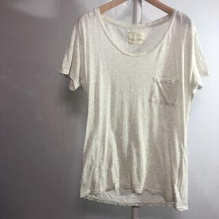 アングリッド(Ungrid)のungrid Tシャツ M-L グレー 品番37(Tシャツ(半袖/袖なし))