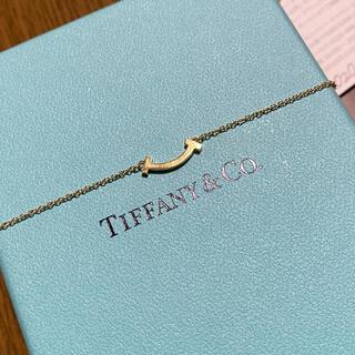 Tiffany & Co. - ティファニー ネックレス 18金 スマイル ミニ