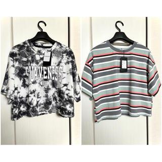 新品 CHIP CLIP ショート丈 Tシャツ 半袖 まとめ売り 短丈 ヘソ出し