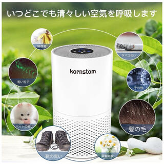 空気清浄機 フィルター付 微細粒子99.97%除去 集じん & 花粉 & タバコ