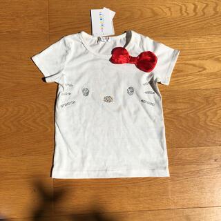 サンリオ(サンリオ)の新品未使用 キティ Tシャツ 100(Tシャツ/カットソー)