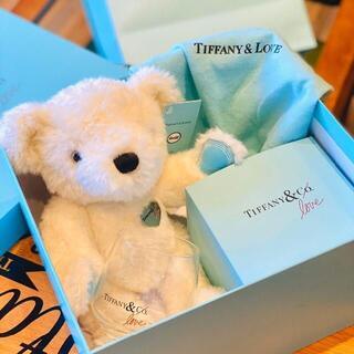 Tiffany & Co.テディベア、グラス 2点セット
