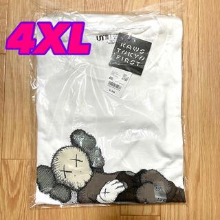 UNIQLO - UNIQLO KAWS ユニクロ カウズ UT グラフィック Tシャツ 4XL