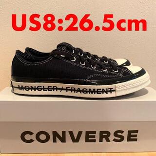 CONVERSE - Fragment Moncler Converse CT70 26.5