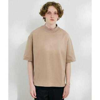 ステュディオス(STUDIOUS)のライトウェイトオーバーサイズモックネックTシャツ(Tシャツ/カットソー(半袖/袖なし))