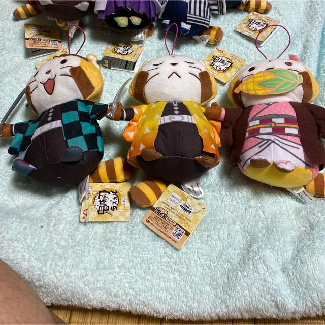 鬼滅の刃 ラスカルコラボぬいぐるみ エンタメ/ホビーのおもちゃ/ぬいぐるみ(キャラクターグッズ)の商品写真