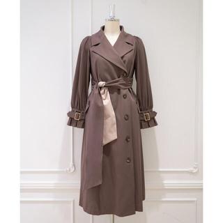 スナイデル(snidel)のherlipto Belted Dress Trench Coatトレンチコート(トレンチコート)