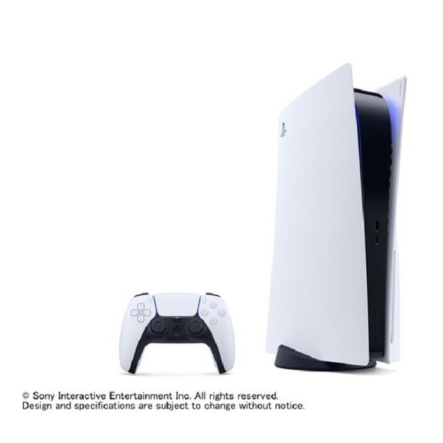 SONY(ソニー)のPlayStation 5 (CFI-1000A01) エンタメ/ホビーのゲームソフト/ゲーム機本体(家庭用ゲーム機本体)の商品写真