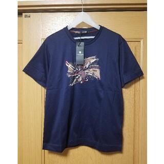 ブラックレーベルクレストブリッジ(BLACK LABEL CRESTBRIDGE)の【新品】ブラックレーベルクレストブリッジ Tシャツ M バーバリー ティシャツ(Tシャツ/カットソー(半袖/袖なし))