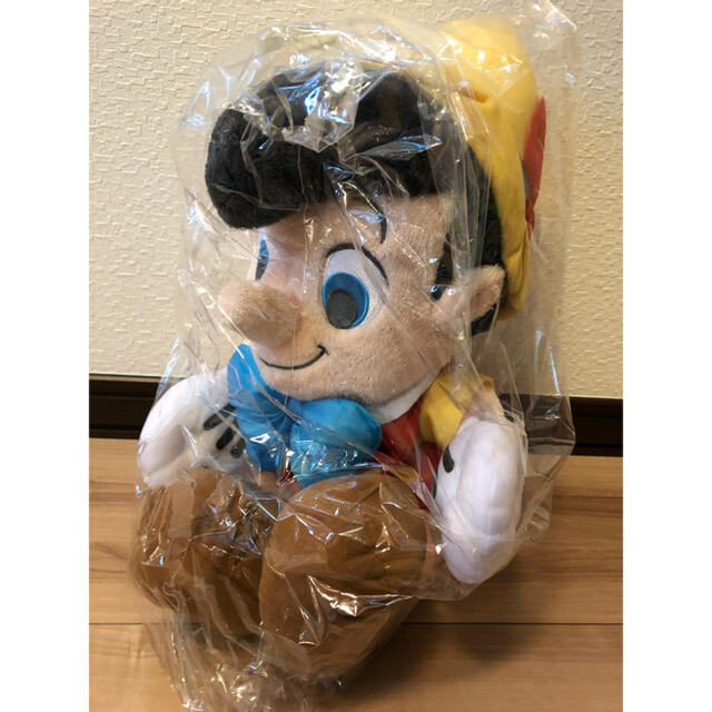 ピノキオ BIG ぬいぐるみ エンタメ/ホビーのおもちゃ/ぬいぐるみ(キャラクターグッズ)の商品写真
