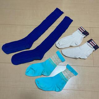 チュチュアンナ(tutuanna)のレディース キッズ 靴下 3点セット(ソックス)