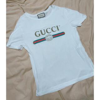 Gucci - gucci ロゴTシャツ