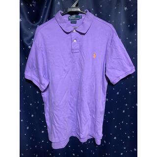 ラルフローレン(Ralph Lauren)のポロラルフローレン ポロシャツ 紫 パープル ダンス 古着 ビンテージ 90s(ポロシャツ)