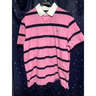 ラルフローレン(Ralph Lauren)のポロラルフローレン ポロシャツ ピンク ワンピ ダンス 古着 ビンテージ 90s(ポロシャツ)
