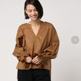 アメリヴィンテージ(Ameri VINTAGE)のAMERI スター刺繍シャツ(シャツ/ブラウス(長袖/七分))