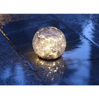 ソーラーランタン 自動消灯 LED ランタンソーラー防水ガーデンライト自動点滅(シングルカード)