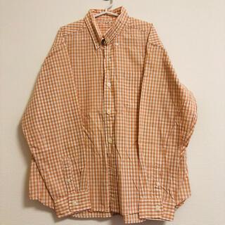 ムジルシリョウヒン(MUJI (無印良品))の140サイズ 無印良品 ギンガムチェックシャツ(ブラウス)