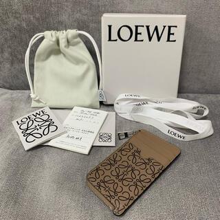 ロエベ(LOEWE)のLOEWE ロエベ コイン カード ホルダー 小銭入れ カードケース(コインケース)