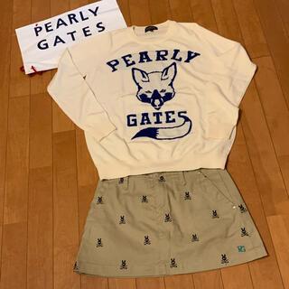 PEARLY GATES - 20周年・限定品★これからの時期に★パーリーゲイツ・スカート★可愛いラビット柄★