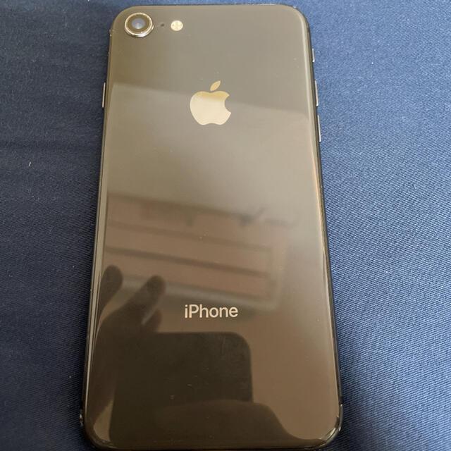 Apple(アップル)のiPhone8 64GB 本体 スマホ/家電/カメラのスマートフォン/携帯電話(スマートフォン本体)の商品写真