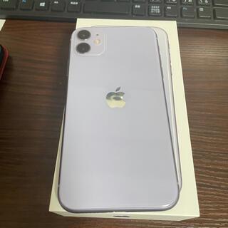 Apple - iPhone11 128GB SIMフリー パープル