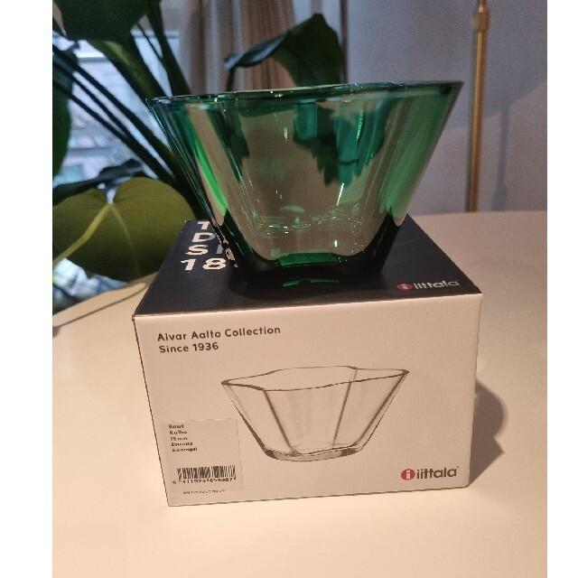 iittala(イッタラ)のイッタラ Aalto ボウル エメラルド インテリア/住まい/日用品のインテリア小物(花瓶)の商品写真