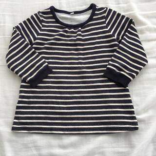 ムジルシリョウヒン(MUJI (無印良品))の100cm女の子 長袖トレーナー(Tシャツ/カットソー)
