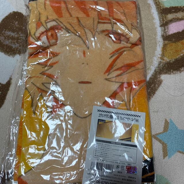 エヴァンゲリオン タオル 未使用❤ エンタメ/ホビーのおもちゃ/ぬいぐるみ(キャラクターグッズ)の商品写真