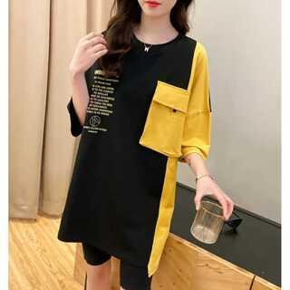 韓国 原宿 ファッション レディース 半袖 tシャツ カラフル ダンス 衣装