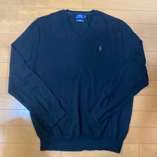 ポロラルフローレン(POLO RALPH LAUREN)のラルフローレンのVネックニット セーター 75%オフ 新品 Lサイズ(ニット/セーター)