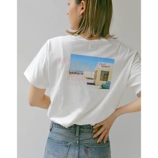 アングリッド(Ungrid)のUngrid(アングリッド)フォトデザインロゴTee(Tシャツ(半袖/袖なし))