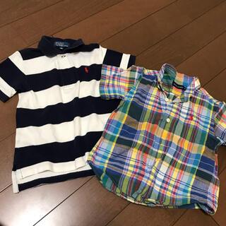 ポロラルフローレン(POLO RALPH LAUREN)のラルフローレン ポロシャツ ブラウスシャツ 2点セット まとめ売り(Tシャツ/カットソー)