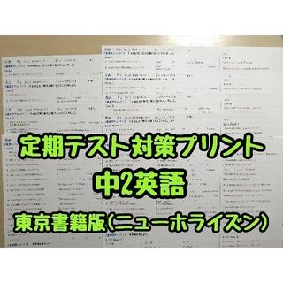 英語教材·定期テスト対策プリント (中学2年生) (ニューホライズンR3年度版)