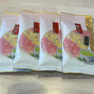 深蒸し茶 100g 4袋 賞味期限2021.11