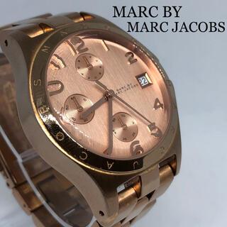 マークバイマークジェイコブス(MARC BY MARC JACOBS)の値下げOK【マークジェイコブス】レディース ユニセックス クロノグラフ 【稼働】(腕時計)