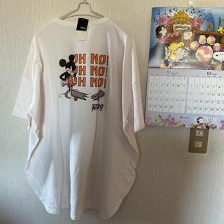 SM2 - 新品*サマンサモスモスブルー*【Disney】ミッキービックTシャツ