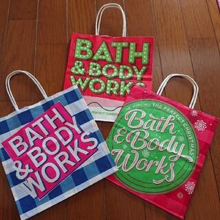 バスアンドボディーワークス(Bath & Body Works)のBath & body work ショップ袋(ショップ袋)