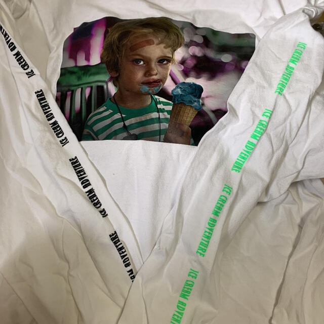 MILKBOY(ミルクボーイ)の【ラッキー様専用】MILKBOYアイスクリーム ロンT 2019 メンズのトップス(Tシャツ/カットソー(七分/長袖))の商品写真