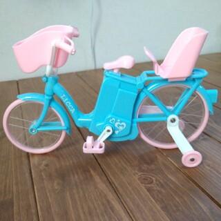 タカラトミー(Takara Tomy)のリカちゃん 電動自転車(ぬいぐるみ/人形)