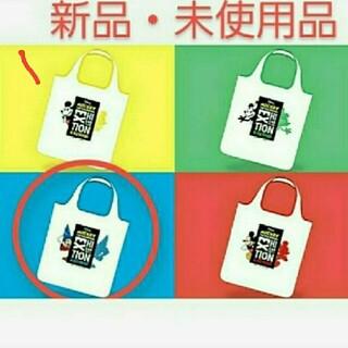 ミッキーマウス(ミッキーマウス)の新品・未使用品 ミッキー展 エコバック 青色(エコバッグ)