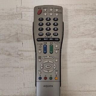 アクオス(AQUOS)のAQUOS テレビリモコン GA491WJSA(テレビ)