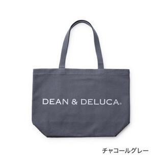 DEAN & DELUCA - 【新品】DEAN&DELUCA トートバッグ L チャコールグレー