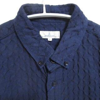 キャピタル(KAPITAL)の未使用 ジャパンブルージーンズ インディゴ ドビー ボタンダウンシャツ 日本製(シャツ)