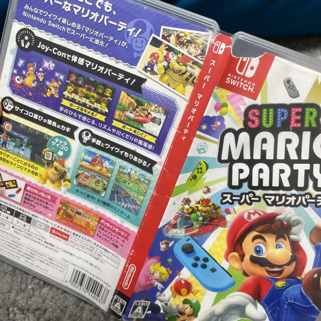 Nintendo Switch(ニンテンドースイッチ)のマリオパーティ Switch エンタメ/ホビーのゲームソフト/ゲーム機本体(家庭用ゲームソフト)の商品写真