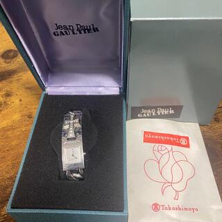 ジャンポールゴルチエ(Jean-Paul GAULTIER)の☆ジャンポールゴルチエ Jean Paul Gaultierクロスブレス腕時計(腕時計)