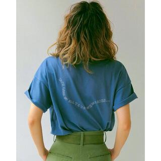 アングリッド(Ungrid)のUngrid エンブロイダリーTee(Tシャツ(半袖/袖なし))